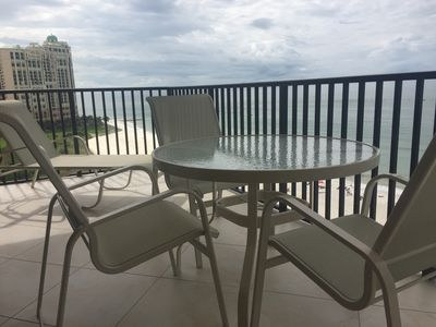 Photo for Sea Winds Large  2 BR  2 Bath Beach Front Condo. Great Views & Amazing Sunsets