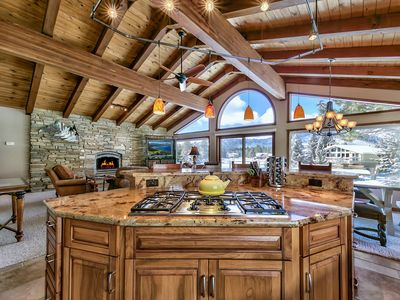 Photo for Waterfront Luxury Escape – Huge, Private Boat Dock, Water Views, Jacuzzi Tub