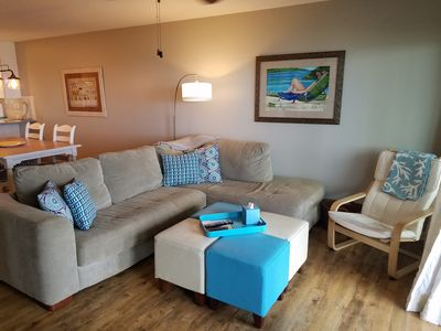 Photo for Remodeled Beachfront Condo - Comes with Beach Chair Service (Mar-Oct)