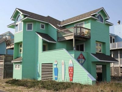 Photo for #OS4: Partial OCEANVIEW Home in Corolla w/HotTub & RecRm, Dog Friendly