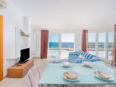 Photo for Penthouse Apartment 13 in Villa Marconi with Sea & Mountain View & Panoramic Sun Terrace; Parking Available