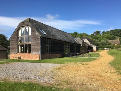 Photo for Stunning detached barn conversion in the New Forest National Park
