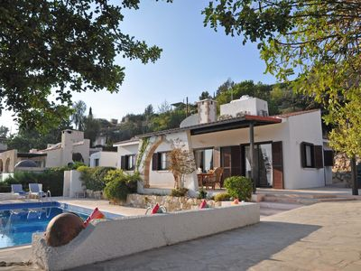 Photo for Single Storey Villa with Stunning Sea Views, Private Pool & BBQ Area