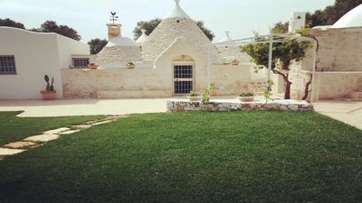 Photo for Luxury trullo by the sea