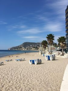 Photo for Apartment with sea views, Arenal beach, Calp