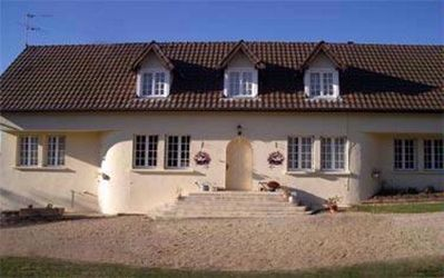 Photo for Large sunny house with heated pool & large garden on the edge of a busy village