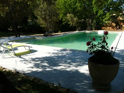 Photo for Charming cottage 4-6 people view Mont Ventoux
