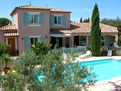 Photo for VILLA PRIVATE POOL + 6PERS Cournonterral. 15kms from Montpellier and the beach