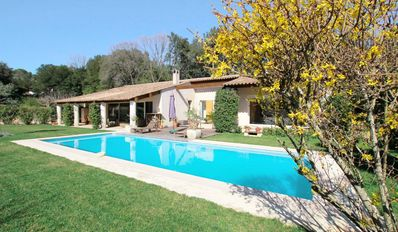 Photo for VALBONNE VILLA SWIMMING POOL 3 ROOMS QUIET GREEN