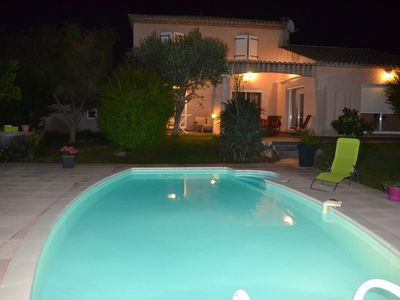 Photo for FAMILY VILLA ENTIRELY CLIMATIZED WITH SWIMMING POOL AND WIFI