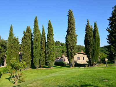Photo for Farmhouse in Chianti with swimming pool
