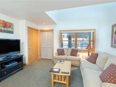 Photo for Flexible Summer Policies - Clean, Spacious Ski-In/Ski-Out Two-Bedroom Condo With Hot Tub