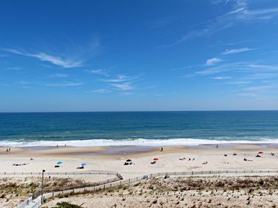 Photo for H706: 2BR+Den Sea Colony OCEANFRONT condo! Private beach, pools, tennis ...