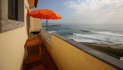 Photo for Cozy apartment, first-class location: center of Ericeira and directly on the sea