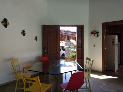 Photo for Excellent house near nature, the beach and commerce