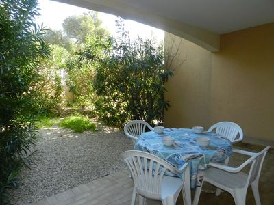 Photo for THE FAVIERE - Close beach and shops. Ground floor. 6 persons