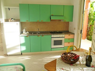 Photo for Apartment Dependance in Capo Vaticano - 5 persons, 2 bedrooms