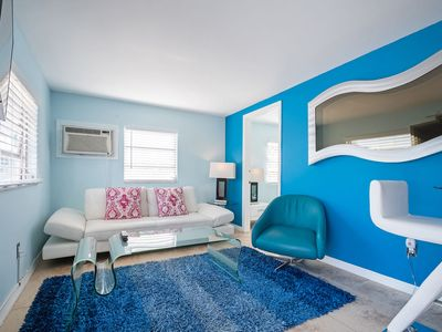 Photo for FLAMINGO #2; 2 BED BEACH UNIT JUST 50 STEPS TO WHITE SAND BEACH WITH POOL!