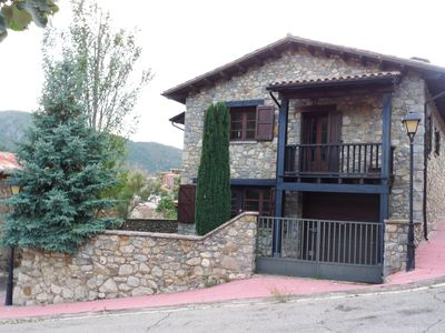 Photo for BEAUTIFUL HOUSE IN THE PYRENEES MOUNTAINS.