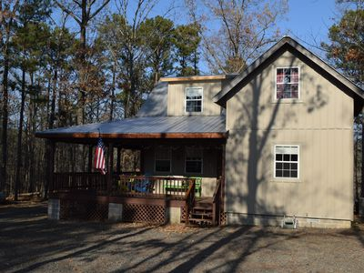 Photo for Clean, comfortable, quiet cabin minutes from Greers Ferry Lake.