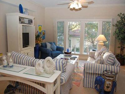 Photo for 112 Main Sail: 2 BR / 2.5 BA harbourfront villas in Hilton Head Island, Sleeps 6