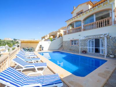 Photo for Vacation home Sunny Days in Calpe/Calp - 10 persons, 5 bedrooms