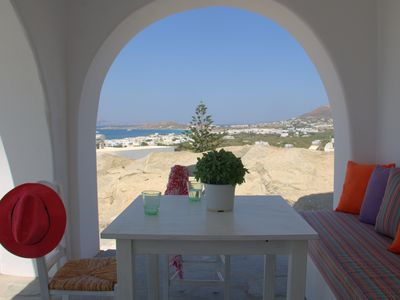 Photo for 800m from the beach. Amazing views. Agia Anna location