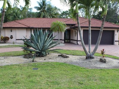 Photo for Beautiful house in Lely Golf Estate area in Naples, Florida, USA