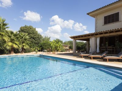 Photo for Offer SeptemberVilla Caricuao 250 m., 8 pax, pool 50 m., Barbacue, hight wifi