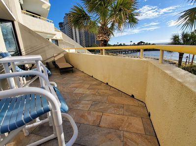 Extra Large Wrap Around Balcony With Superb Ocean View On Both Sides Of Balcony