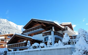 Stunning Setting and Views From This Family Chalet in renowned Klosters.