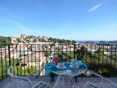 Photo for REF. 2115 / HUTG-018497. SEA VIEW, CLOSE TO THE BEACH OF SANT POL. QUIET.  Apartment wit