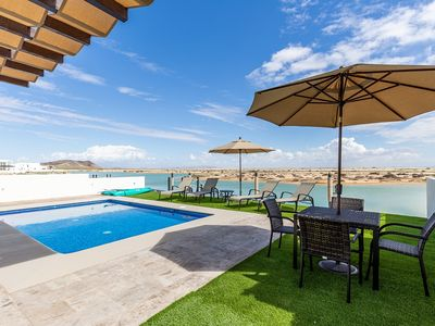 Photo for Stunning Water Front House with Private Pool