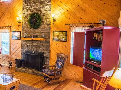 Photo for Evergreen Cabin at Blairsville