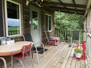 Relax on the porch and enjoy the wildlife.