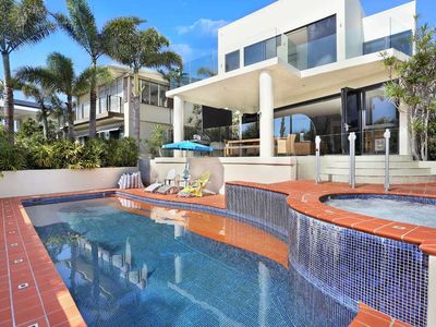Photo for Ocean views, Modern, Spacious, short stroll to beach and Sunshine Beach Village