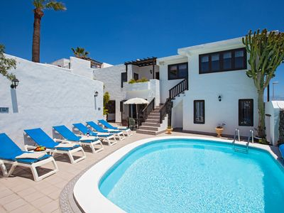 Photo for Luxury 4 Bed Villa, Sleeps 10, Central Puerto Del Carmen
