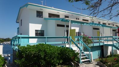 Photo for Beautiful Boutique Overwater Townhouse with Private Dock and All Amenities