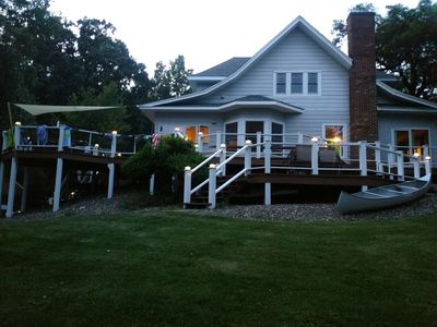 Photo for WI Lake Home with so much to offer!!  Only an hour from the Twin Cities!