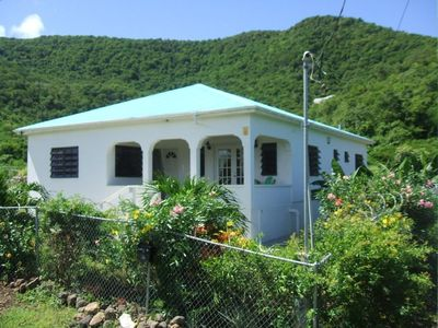 Photo for 3 double bed 2 bathroom Villa Near Darkwood beach and Jolly Harbour with WiFi