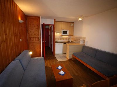 Photo for Surface area : about 26 m². 5th floor. Orientation : South. Living room with 2 single beds