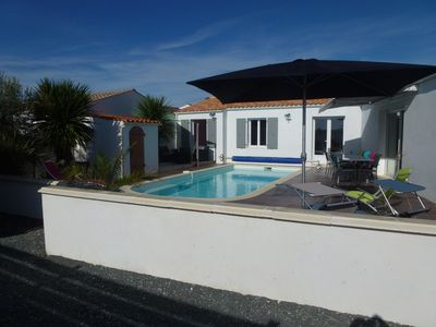 Photo for House Ile d'Oleron 6 people with heated private pool not overlooked