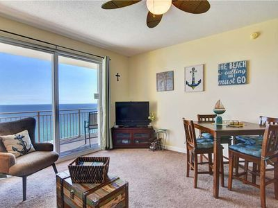 Photo for Sterling Reef 1502 Panama City Beach: 2 BR / 2 BA condo in Panama City Beach, Sleeps 6