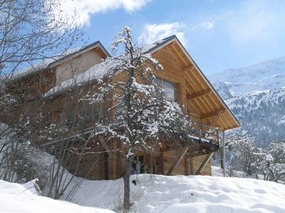 Photo for Cosy & Spacious Chalet in Vaujany/ Alpe d'Huez for amazing Ski & Summer holidays