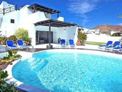 Photo for Holiday resort Villas Kamezi, Playa Blanca  in Lanzarote - 8 persons, 4 bedrooms