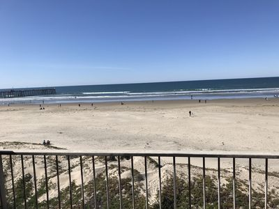 Photo for BEACHFRONT LUXURY 3 BR CONDO! ON THE SAND DOWNTOWN PISMO