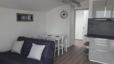 Photo for Pointe des Minimes apartment with pool