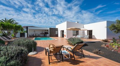 Photo for One bedroom Villa, sleeps 8 in Playa Blanca with Pool and WiFi