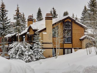 Photo for Ridgepoint 105: 3 BR / 3 BA Ski-in/Ski-out Townhome in Silver Lake Deer Valley!