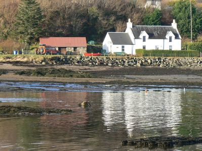 Cottage and reflections